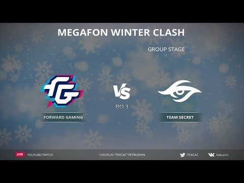 [RU] Forward vs Secret | Bo3 | MegaFon Winter Clash by @Tekcac