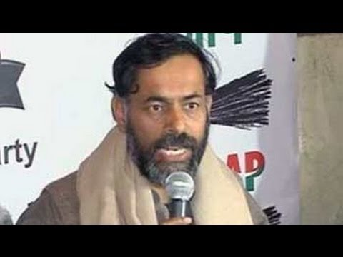AAP's Yogendra Yadav offers to resign from key post