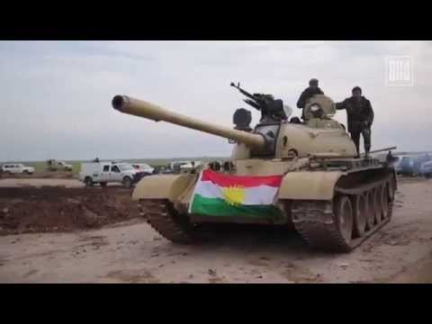 Peshmerga break siege of Mount Sinjar & freed 10,000 Yazidis 17 Dec فك حصار جبل سنجار