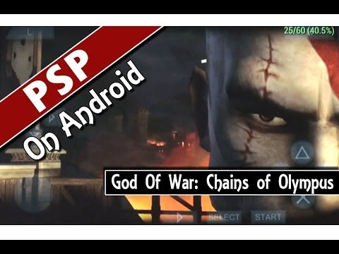 God Of War - Chains of Olympus (PPSSPP v0.9.1) PSP Emulator on Android