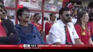 CCL 5 Final Chennai Rhinos Vs Telugu Warriors Ist Innings Part 4/4