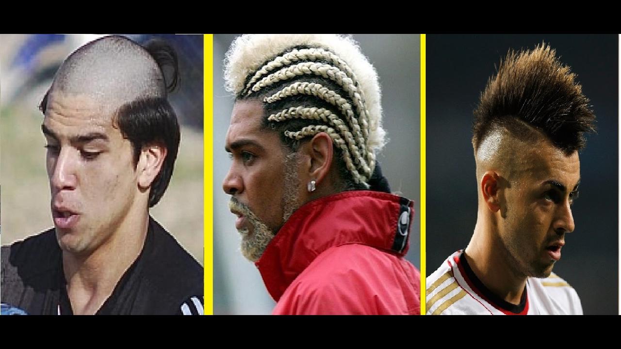 Футбольные причёски для длинных волос