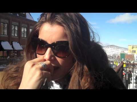Italians In film interview with Laetitia Casta @ Sundance Film Fest