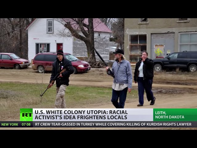 The Third Leith: US racial activist's white colony utopia scares locals (Ep 1/4)