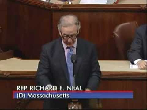 Congressman Richard Neal Introducing the Invest in US Act of 2014
