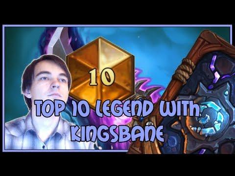 Hearthstone: Top 10 legend with Kingsbane rogue