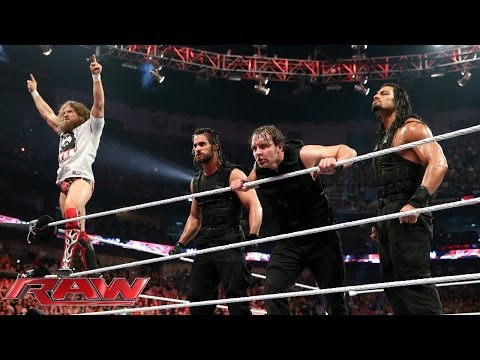Daniel Bryan Vs. Triple H - Wwe World Heavyweight Championship Match: Raw, April 7, 2014 video