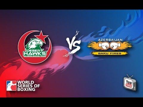 Algeria Desert Hawks - Azerbaijan Baku Fires - Week 2 - WSB Season 3