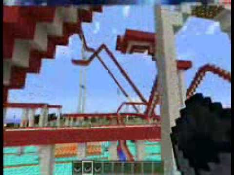 Minecraft construction de fou man ge youtube - Minecraft construction de fou ...