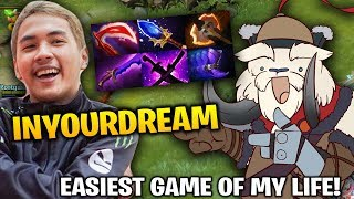 InYourdreaM Tusk Mid Battle Fury + Aghanim Dota 2 7.17
