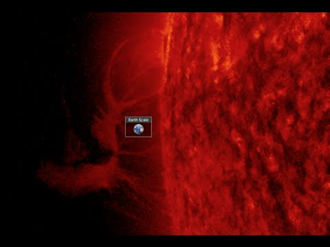 Satellite Down, Huge Solar Features | S0 News Mar.28.2016
