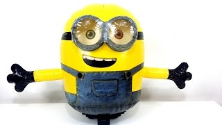 Minion Bob Radio Controlled Inflatable Toy Unboxing & Playing