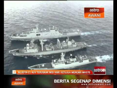 Bluefin-21 AUV teruskan misi hari ketujuh mencari MH370