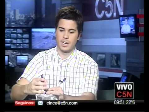 Video: C5N - TECNOLOGIA -  MOTOROLA DEFY INDESTRUCTIBLE