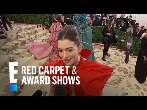 Anne Hathaway Explains Met Gala 2018 Inspiration | E! Red Carpet & Award Shows thumbnail