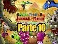 Plants vs Zombies 2 - Parte 10 Pantano del Jurasico - Español