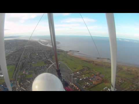 Christmas Flight Ince To Liverpool Via The River Mersey