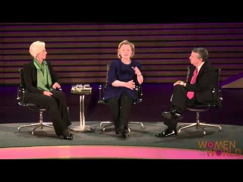 A Conversation with Hillary Rodham Clinton and Christine Lagarde, On Putin