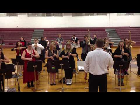 Unaka High School Band - Christmas Parade Music