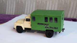 scale model 1:43 - GAZ 52 MPR3901