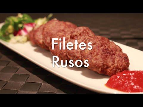Filetes Rusos Jugosos - Recetas de Cocina Fáciles y Económicas