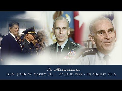 Funeral of Gen. John W. Vessey Jr.