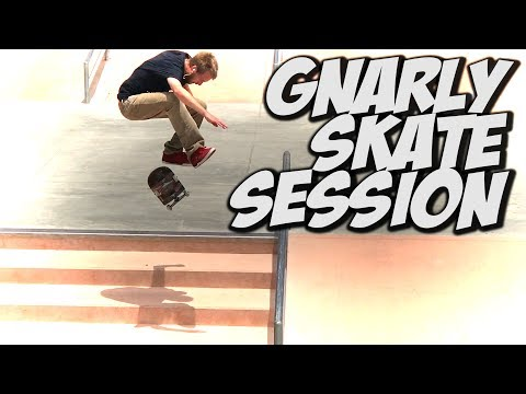 GNARLY SKATE DAY !!! - A DAY WITH NKA -