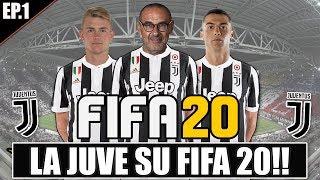 LA JUVENTUS SU FIFA 20!! LA NUOVA JUVENTUS DI SARRI! FIFA 20 CARRIERA JUVENTUS
