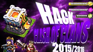 Tutorial Hack | Clash Of Clans 100% NO ROOT  2016