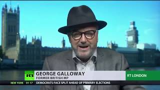 George Galloway: Support for Nigel Farage is the UK voters' way of demanding Brexit