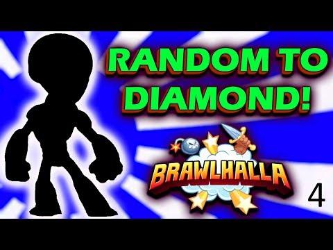 Random to DIAMOND! #4 • 2159 ELO Opponent!? • Brawlhalla Gameplay