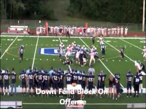 Andrew Gawrys Columbia High School Football Fall 2012 #71 and #77