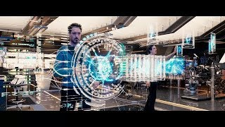 All tony Stark creating and Inventing gadgets Scenes   Iron Man   Storm Hack