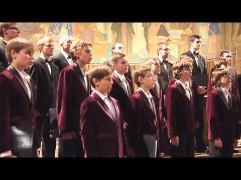 Loch Lomond - Poznań Boys Choir - lyrics in subtitles