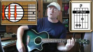 The Thin Ice - Pink Floyd - Acoustic Guitar Lesson