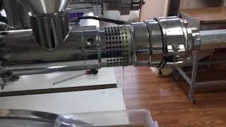 Soğuk pres yağ makinası cold press oil machine sesame oil susam yağı çıkartıyor gm-1000 model