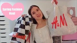 Spring Fashion Haul // H&M, New Yorker