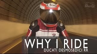Why I Ride: Ken Tam's Ducati Desmosedici RR