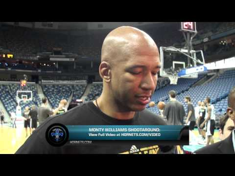 3/4/2013 Monty Williams Shootaround Preview