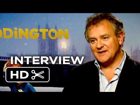 Paddington Interview - Hugh Bonneville (2015) - Nicole Kidman, Sally Hawkins Movie HD