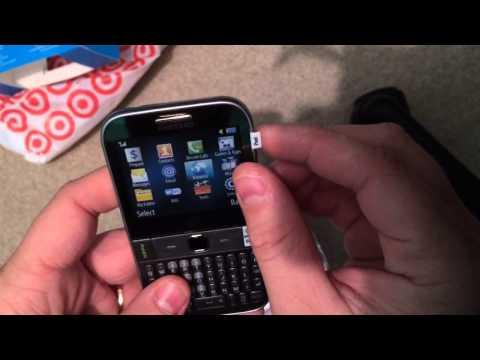 Net10 Samsung S390G Unboxing