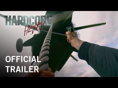 'Hardcore Henry' Official Trailer #1 (POV action movie)