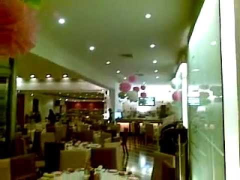 decoraci n baby shower restaurant bice bistro youtube
