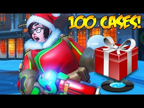 OVERWATCH 120+ HOLIDAY SKINS UNBOXING & GAMEPLAY! - OVERWATCH CHRISTMAS SEASONAL HOLIDAY UPDATE!