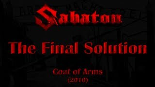 Watch Sabaton The Final Solution video