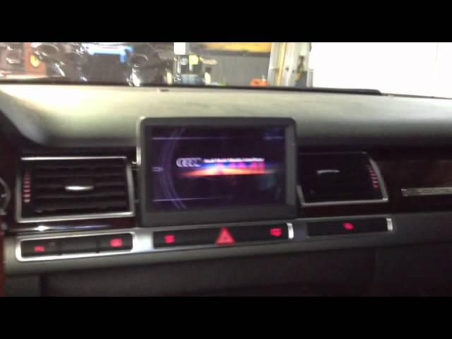 Audi A8 MMI Problem - YouTube