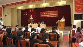 Đồng chí Trần Quốc Vượng tiếp xúc cử tri Yên Bái