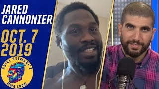 Jared Cannonier reacts to Adesanya's win, wants to fight Whittaker next | Ariel Helwani's MMA Show