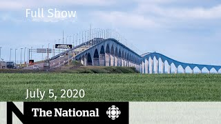 WATCH LIVE: The National for Sunday, July 5 — COVID-19 comeback in P.E.I.