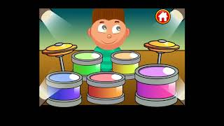 Baby Kids piano&drums